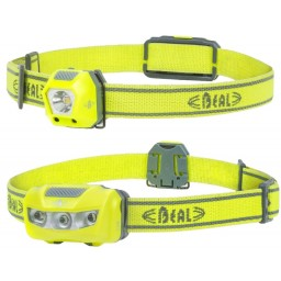 HEADLAMP BE VISI - 360º - 28 + 24 LUMENS - AMARELA - BEAL