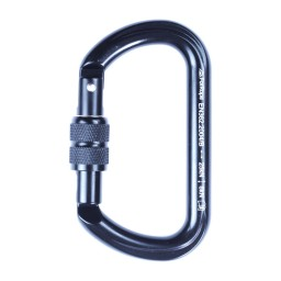 MOSQUETÃO ALUMINIO OVAL TRAVA ROSCA KEYLOCK 25kN - FOR ROPE ®